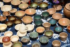 Free China Traditional Bowls And Cups Royalty Free Stock Photography - 31421977