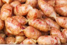 Free Pork Salami Sausage Royalty Free Stock Photo - 31422125