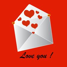 Free Love Letter Stock Image - 31422951