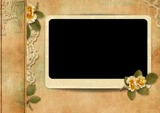 Free Vintage Cover For An Album With Photos Stock Photography - 31425402