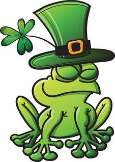 Free St Paddys Day Frog Stock Photo - 31425940