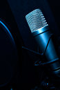 Free Condenser Microphone In Studio Stock Images - 31435364