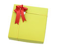 Free Gold Gift Box Royalty Free Stock Photos - 31436928