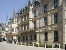 Free Luxembourg. Palace Of The Grand Duke Of Luxembourg, Stock Photos - 31430463