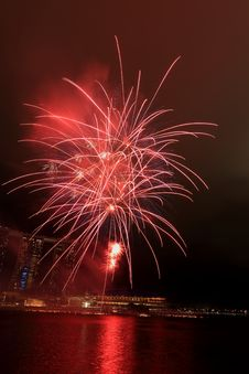 Free Fireworks By The Bay Stock Photography - 31430992