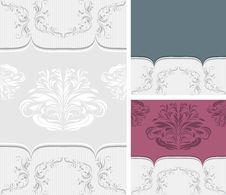 Free Three Ornamental Borders For Design Royalty Free Stock Photo - 31437185