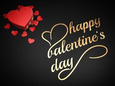 Free Happy Valentine`s Day Royalty Free Stock Photo - 31438395