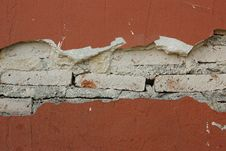 Free Cracked Wall Stock Image - 31438411