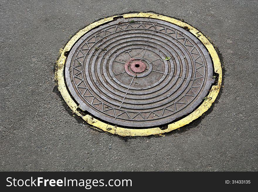 cover sewage hatch
