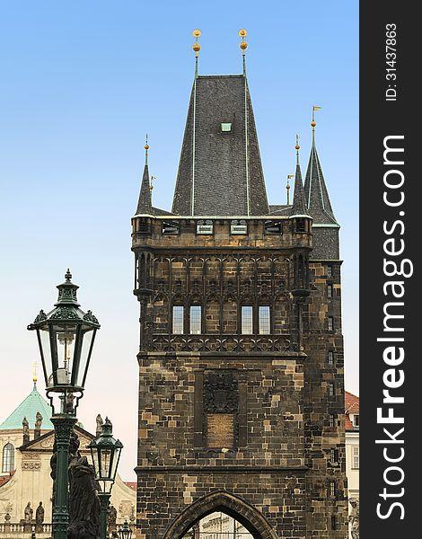 Old Town Bridge Tower in Prague