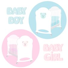 Free Baby Cot Stock Images - 31446394