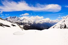 Free Himalayas Mountains Panorama Landscape View Of Annapurna Area Stock Image - 31450241