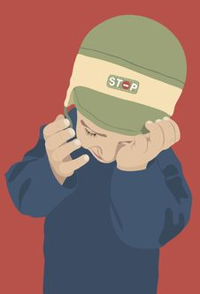 Free Crying Boy Royalty Free Stock Image - 31450396