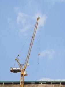 Free Crane On Top Stock Image - 31451681