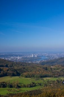 Free Bonn Scene From High View Royalty Free Stock Photos - 31451968