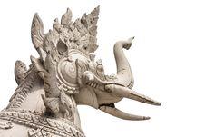 Elephant Sculture Stock Photography
