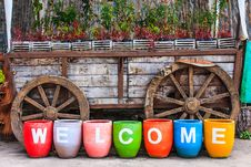 Free Welcome To Countryside Stock Photos - 31454353