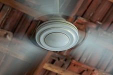Free Whirling Ceiling Fan White Stock Photo - 31454620