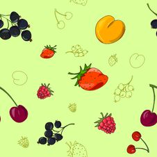 Free Summer Berry Background Stock Photos - 31454663