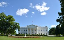 Free The White House Royalty Free Stock Image - 31457856