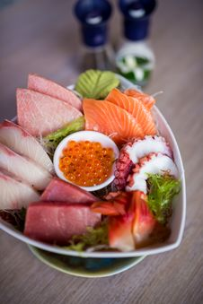 Free Sashimi Set Stock Images - 31466914
