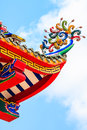 Free Roof Decoration Of Chinese Temple Stock Image - 31471881