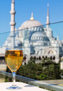 Free View Of The Blue Mosque From The Restaurant, Istanbul, Turkey Royalty Free Stock Photos - 31473668