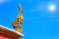 Free Thai Dragon Or King Of Naga Statue Royalty Free Stock Photography - 31478937