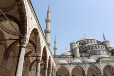 Free Blue Mosque Stock Photography - 31470232