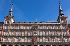 Free Architecture At Plaza Mayor  In Madrid, Spain /  Casa De La Pana Stock Photos - 31471453