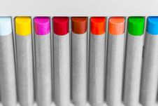 Free Color Crayon In Angle Royalty Free Stock Photos - 31472448