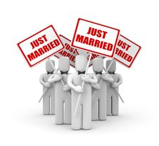 Free Just Married Royalty Free Stock Photography - 31472527