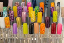 Free Nail Color Display Stand Stock Photo - 31472820
