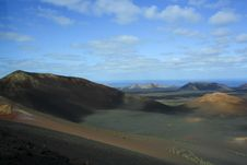 Free Lanzarote,Timanfaya National Park Royalty Free Stock Image - 31477126