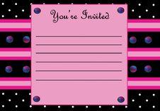 Free Invitation Stock Image - 31477711