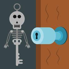 Free Skeleton Key Stock Photo - 31478320