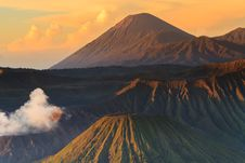 Free Bromo Mountain In Tengger Semeru National Park At Sunrise Stock Photos - 31479903