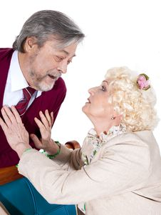 Free Happy Senior Couple In Love Royalty Free Stock Images - 31486759