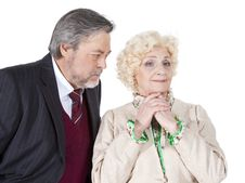 Free Happy Senior Couple In Love Stock Image - 31486791