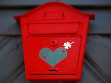 Free Red Letterbox Stock Photo - 31486820