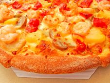 Free Pizza Close Up Royalty Free Stock Images - 31488829