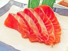 Free Salmon Sashimi Stock Photo - 31488980