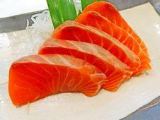 Free Salmon Sashimi Stock Image - 31488991