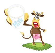 Free Cartoon Dairy Cow Stock Photography - 31489042