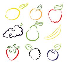Free Assorted Fruits Royalty Free Stock Photography - 31489097