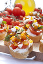Free Appetizer Called Bruschetta Stock Photos - 31499463