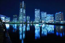 Yokohama, Japan Cityscape At Minato-mirai Stock Image