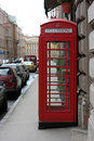 Free Antique English Call Box Royalty Free Stock Images - 3151229