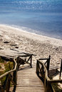 Free Wooden Path To The Beach Stock Photo - 3153840