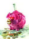 Free Pink Pig Of Money-box Stock Photo - 3155250